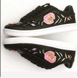 Beautiful Embroidered Sneakers